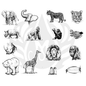 DSS-136 Zoo Animals
