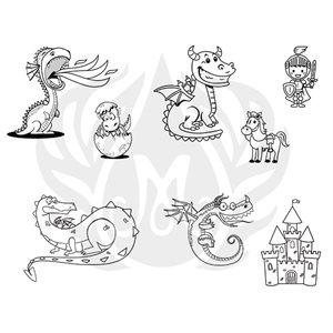 DSS-0154-Cute Dragons