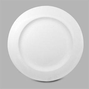 Rimmed Dinner Plate