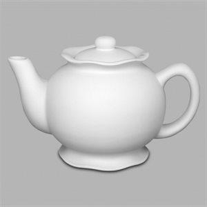 Ruffle Ware Tea Pot