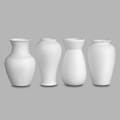 """4"""" Vases (4 modèles)"""