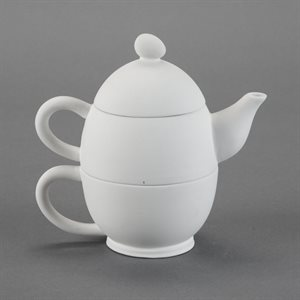 Oval Tea-For-One