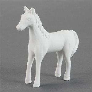 Cute Standing Horse
