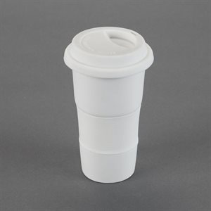 Travel Cup W / Silicone Sleeve & Lid