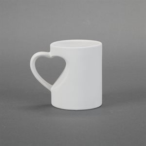 Medium Heart Mug