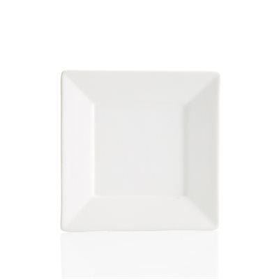 Angled Rim Salad Plate