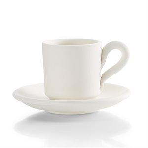 Espresso Cup w / Saucer 2 on