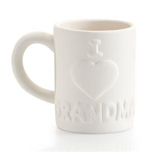 I Love Grandma Mug 12 on