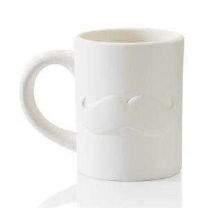 Moustache Mug 12 on