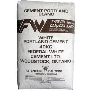 Ciment Portland Blanc Type GU